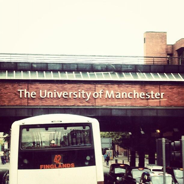 Salford Photograph - The University Of Manchester #studying by Abdelrahman Alawwad