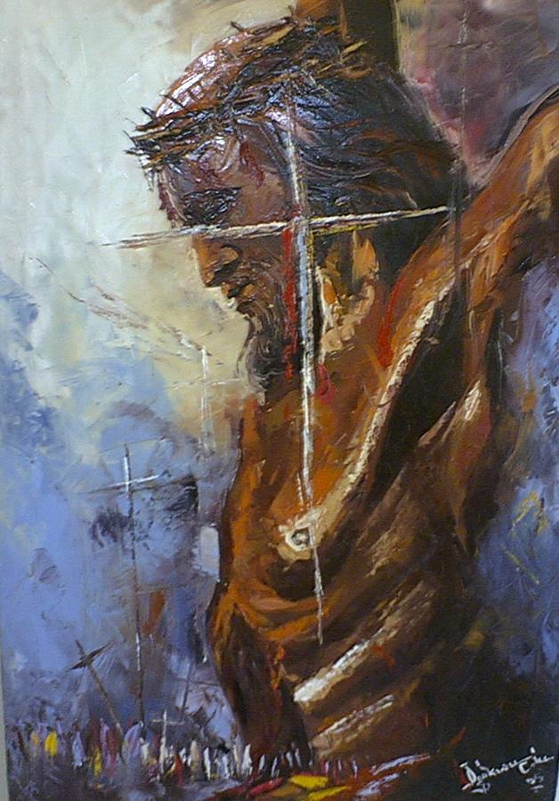 the victim painting by ogakwu chinedu
