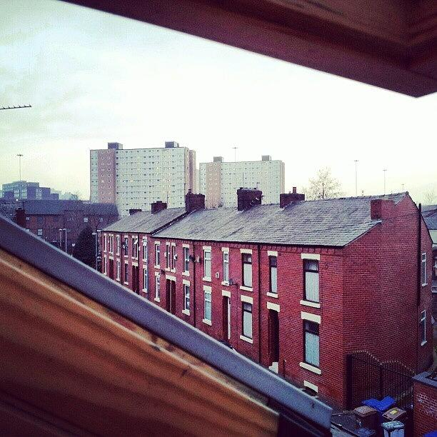 Salford Photograph - The View From My #house #roof by Abdelrahman Alawwad