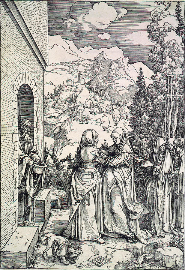1500s Photograph - The Visitation, The Virgin And St by Everett