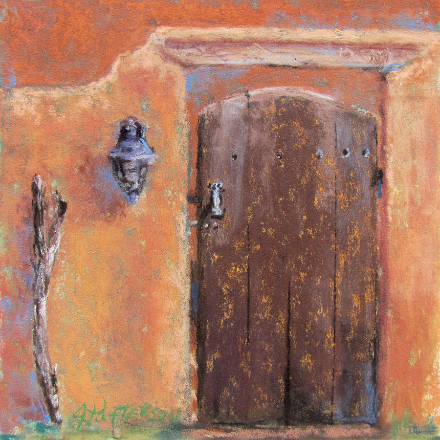 New Mexico Painting - The Walking Stick by Julia Patterson