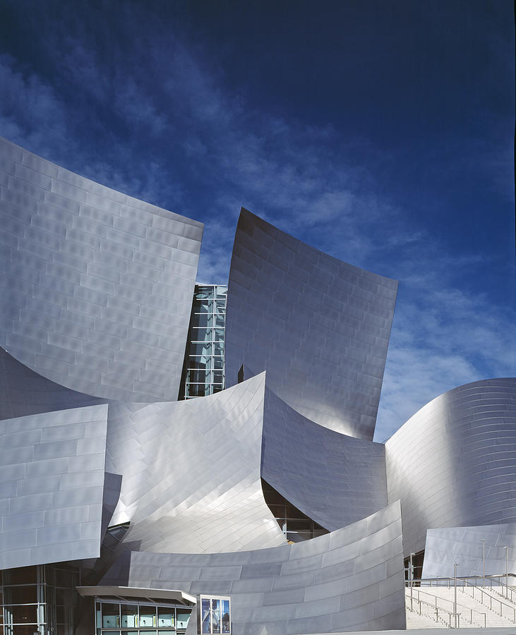 2000s Photograph - The Walt Disney Concert Hall, By Frank by Everett