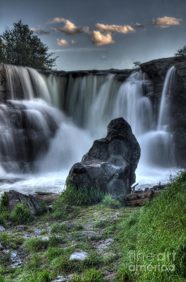 Waterfalls Photograph - The Watchman by Bob Christopher