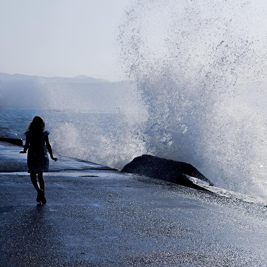 Female Photograph - The Wave by Joana Kruse
