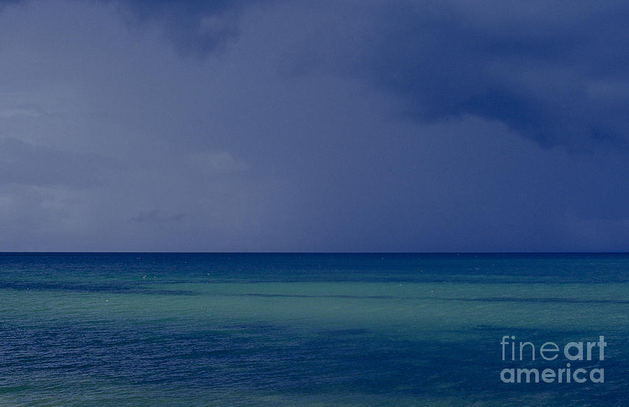 Ocean Photograph - The Weather Is Changing by Heiko Koehrer-Wagner