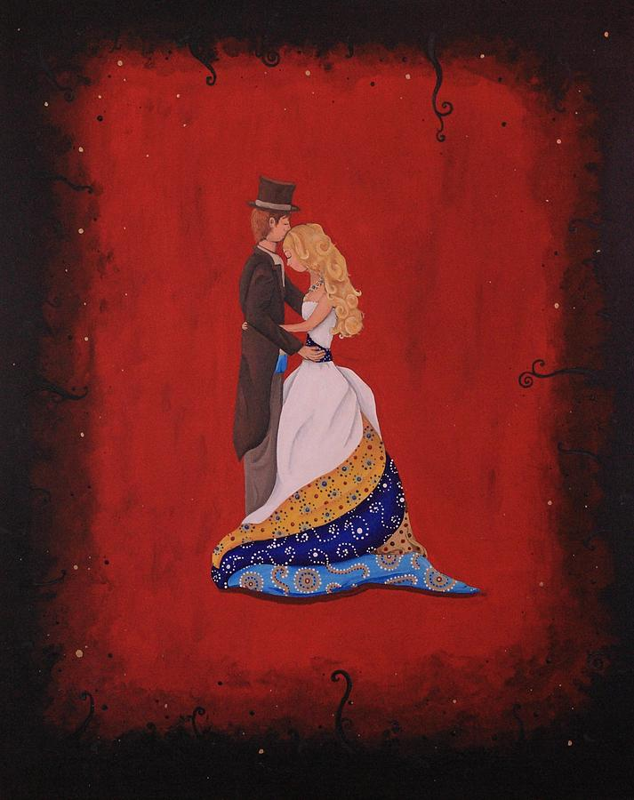 Marriage Painting - The Wedding by Jennifer Lynch