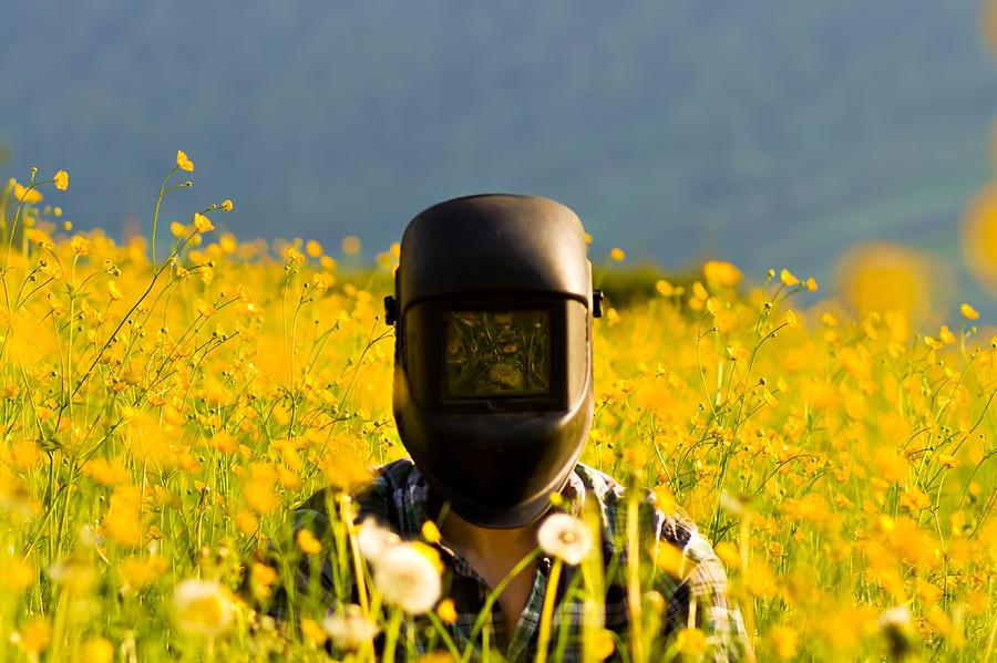 Strange Photograph - The Welding Fields by Justin Albrecht