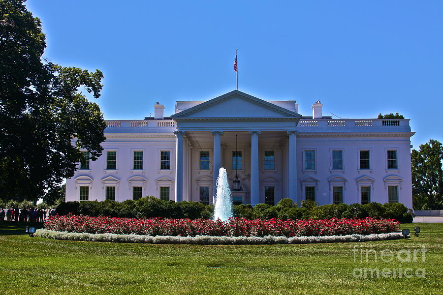 President Obama Photograph - The White House - No. 0341  by Joe Finney