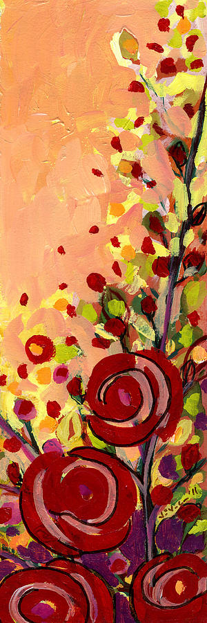 Rose Painting - The Wild Roses by Jennifer Lommers