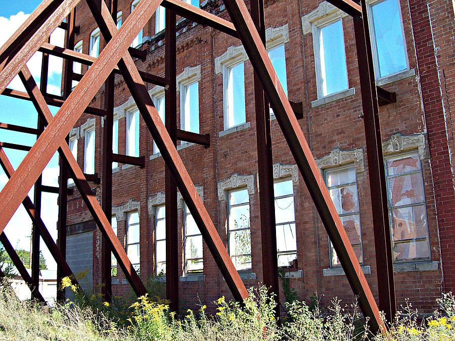 Michigan Photograph - The Window Wall by MJ Olsen