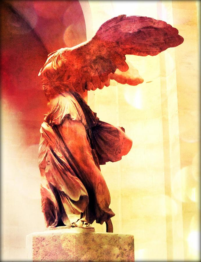 The Winged Victory Photograph - The Winged Victory  by Marianna Mills