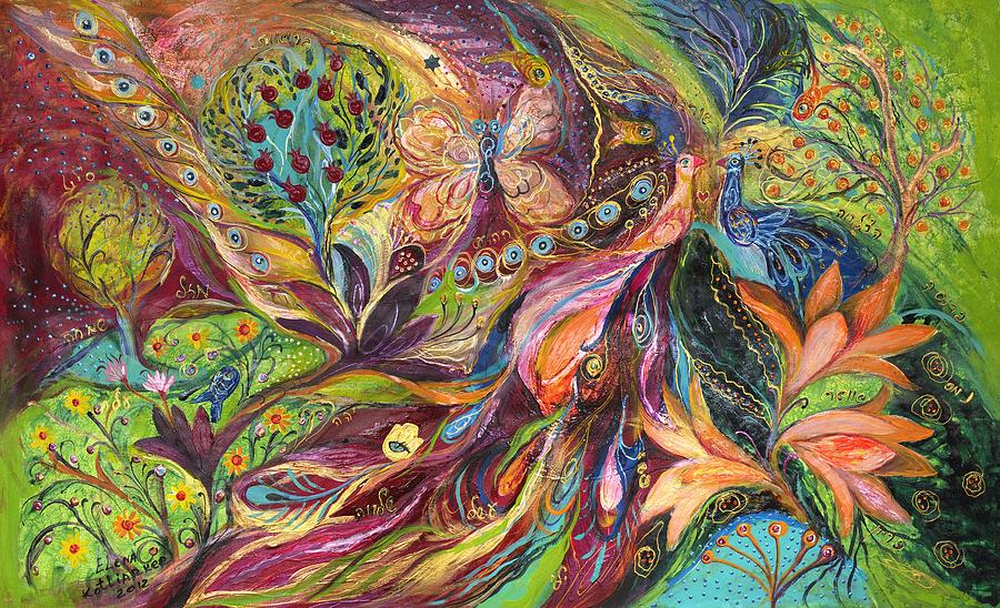 Original Painting - The World Of Lilies ...... The Original Can Be Purchased Directly From Www.elenakotliarker.com by Elena Kotliarker