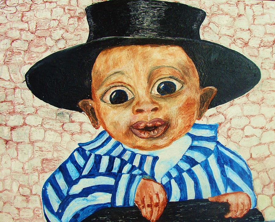 Children Painting - The Young Gentleman by Jeanne Mytareva