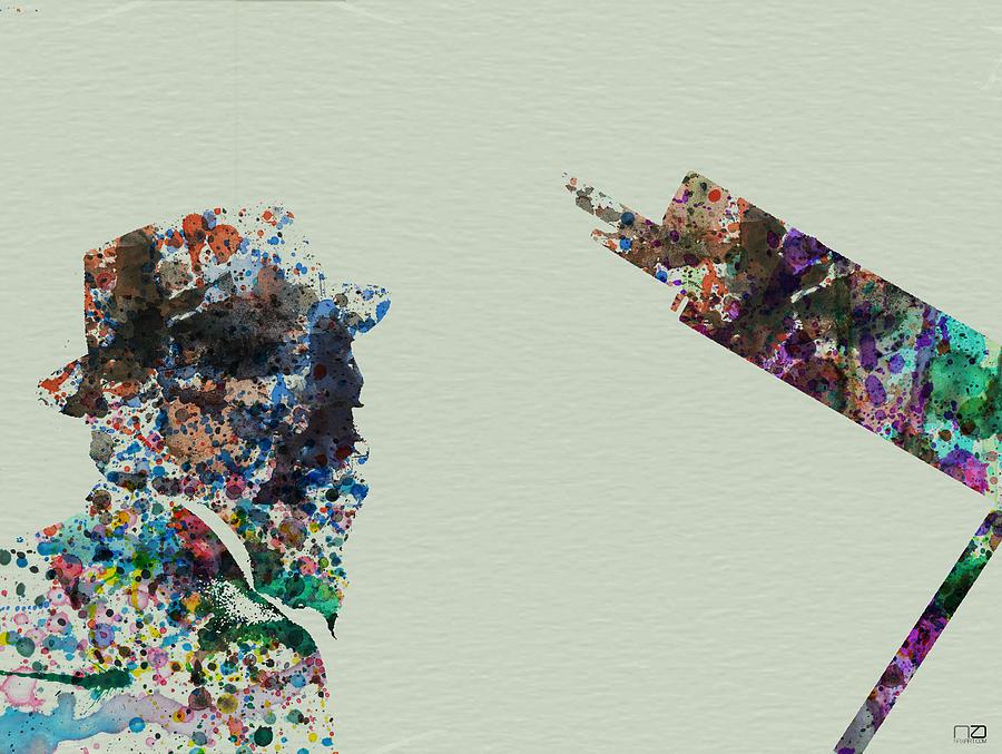 Thelonious Monk Painting - Thelonious Monk by Naxart Studio