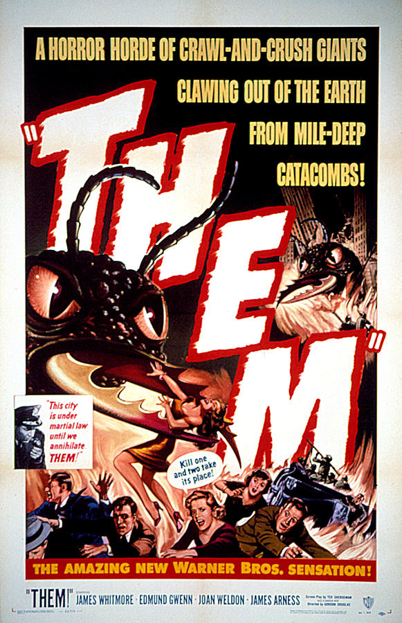 Ant Photograph - Them 1954, Poster Art by Everett