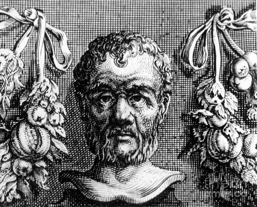 Philosophy Photograph - Theophrastus, Ancient Greek Polymath by Photo Researchers