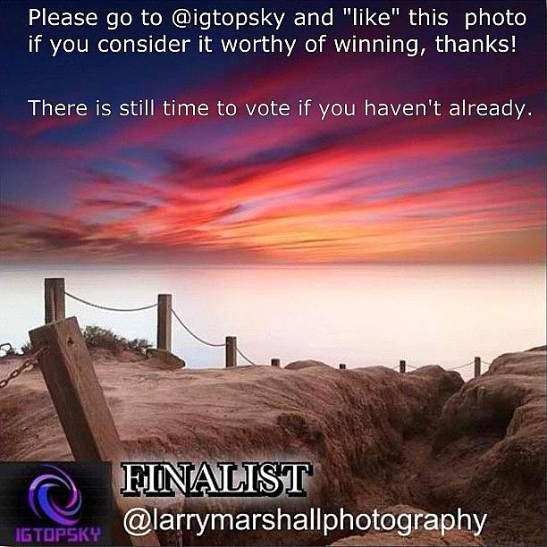 There Is Still Time To Go To @igtopsky Photograph by Larry Marshall