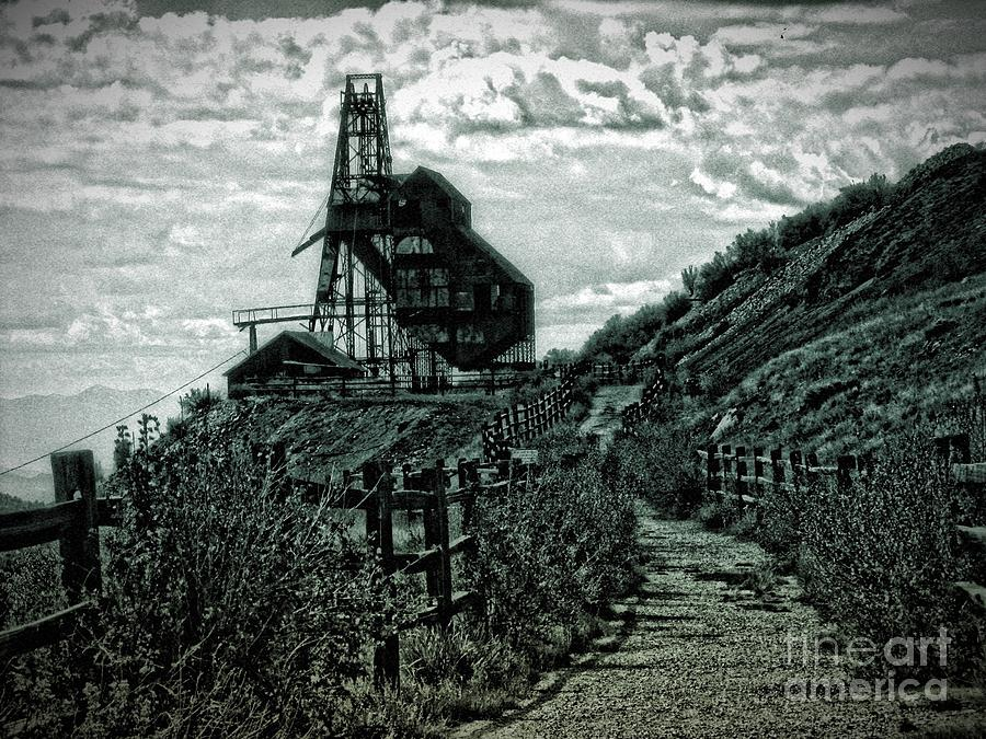 Gold Photograph - Theres Gold In Them Hills by Christina Perry