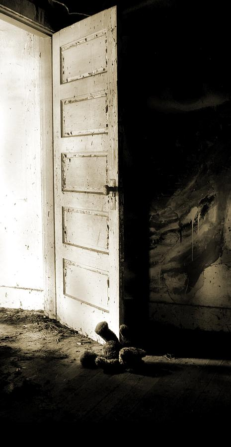 Nightmare Photograph - Theres Something In My Room... by Nyla Alisia