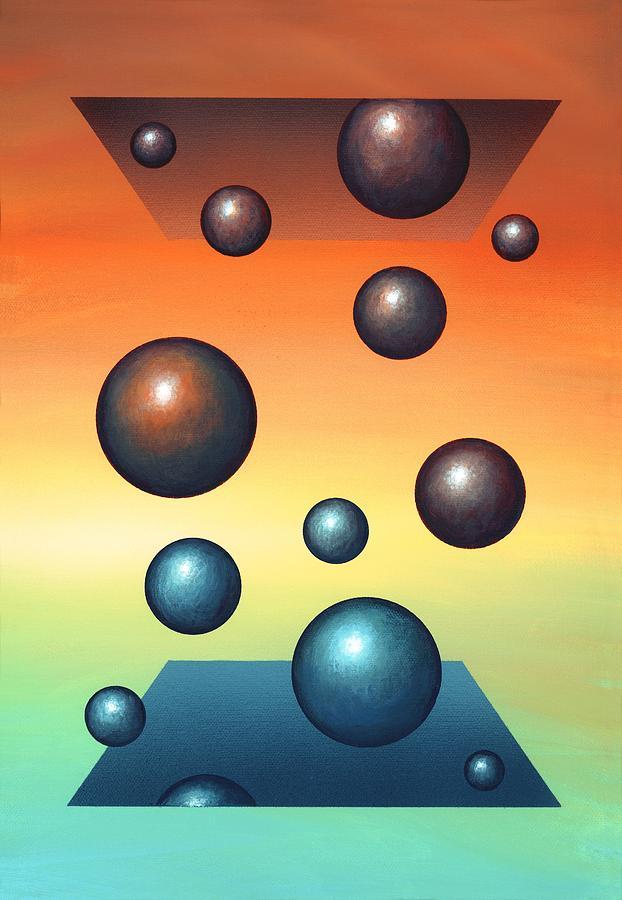 Molecule Photograph - Thermodynamics, Conceptual Artwork by Richard Bizley