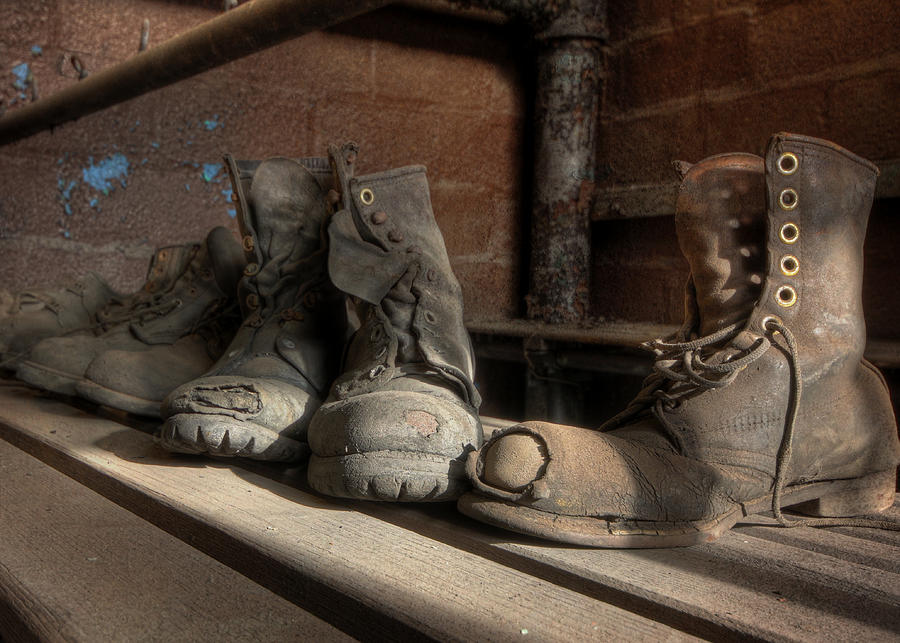 501de1f1b994 Boot Photograph - These Old Boots by Lori Deiter