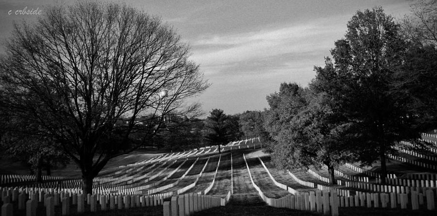 Cemetery Photograph - They Gave All by Chris Berry