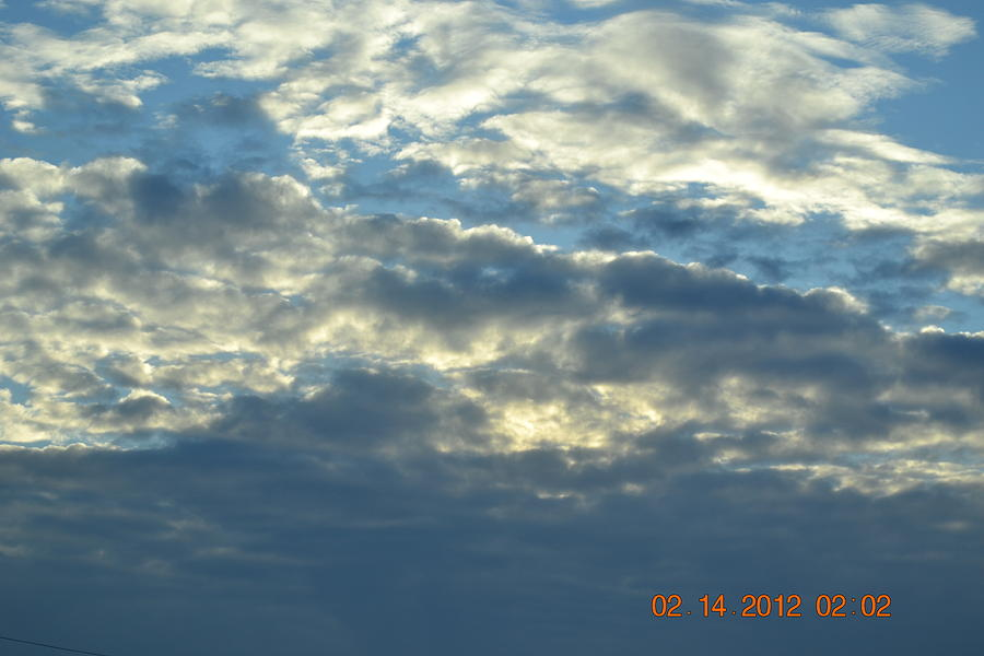 Thick Clouds Photograph by Heidi Frye