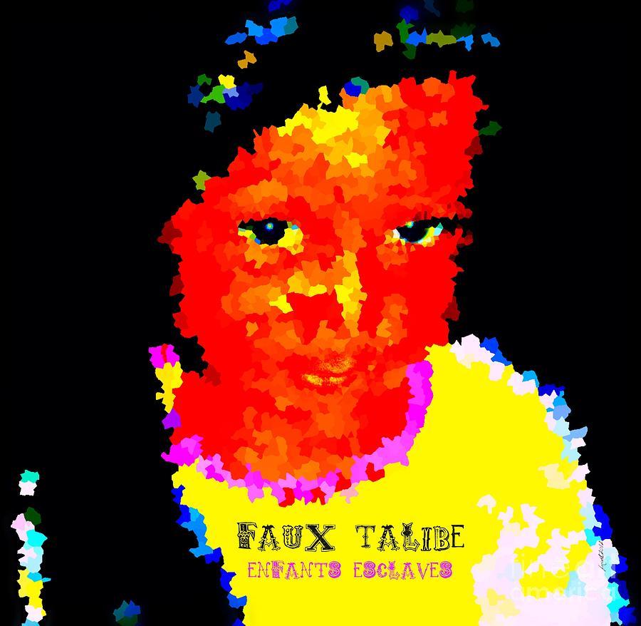 Faniart Mixed Media - Things In My Eyes by Fania Simon