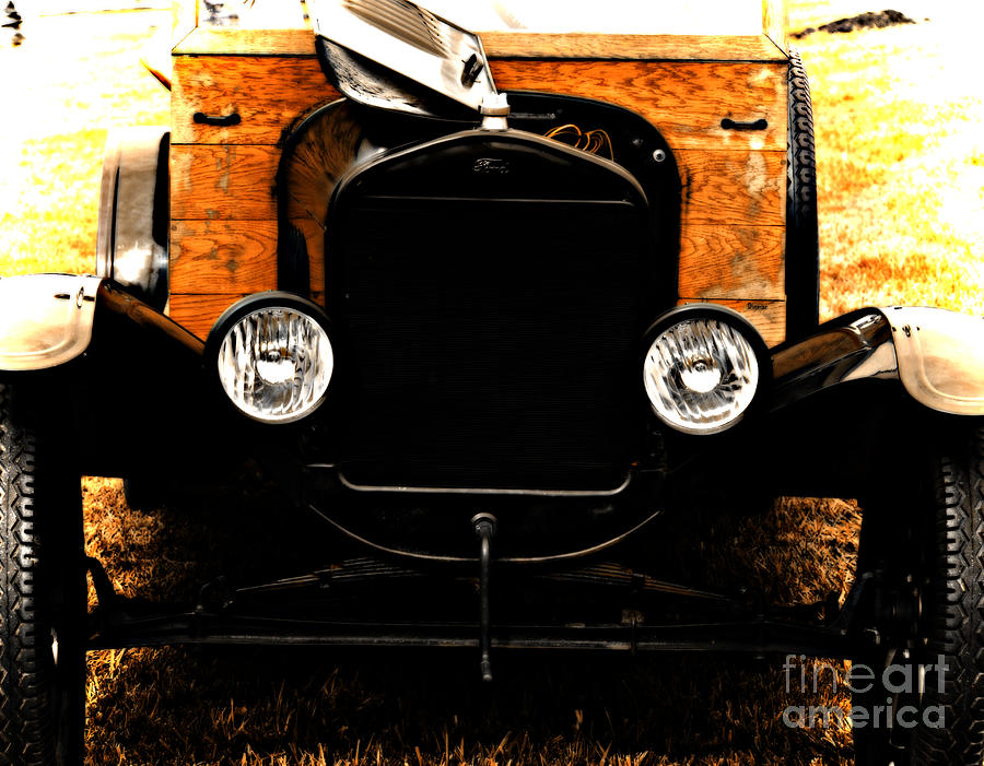 Cars Photograph - Things That Crank by Steven Digman