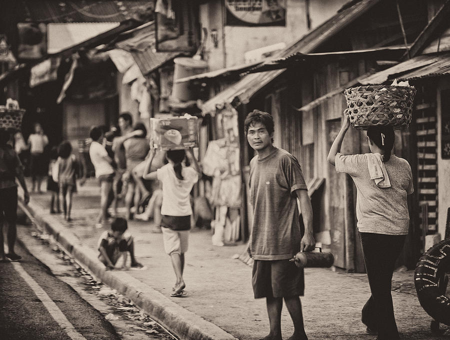 Cebu Photograph - This Is The Philippines No.55 - The Carriers by Paul W Sharpe Aka Wizard of Wonders