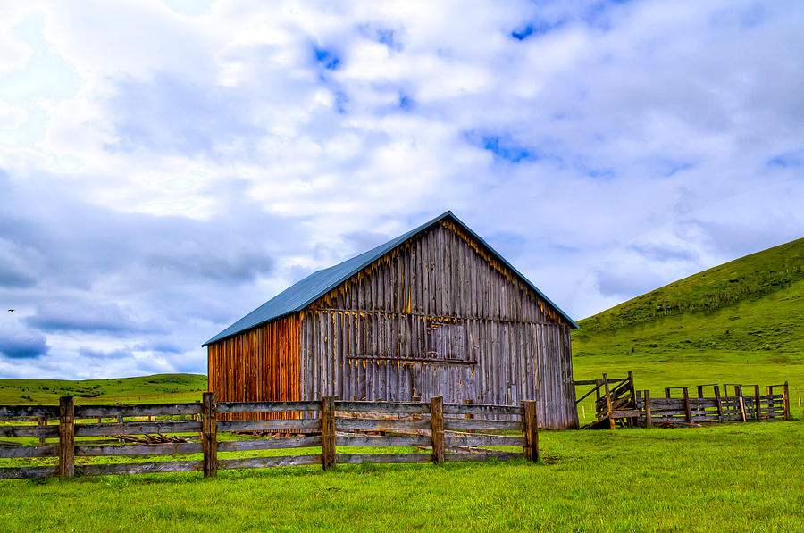 Eastern Oregon Photograph - This Old Barn by Jen TenBarge