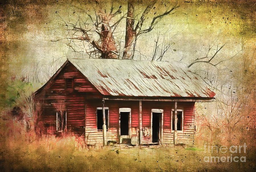 Old Photograph - This Old House by Judi Bagwell