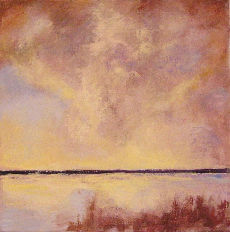 Beach Painting - This Side of Paradise 2 by Cecelia Campbell