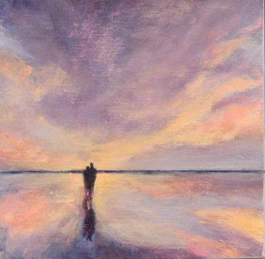 Beach Painting - This Side of Paradise 6 by Cecelia Campbell