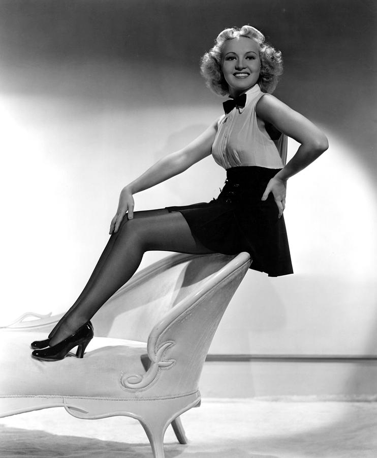 This Way Please Betty Grable 1937 Photograph By Everett