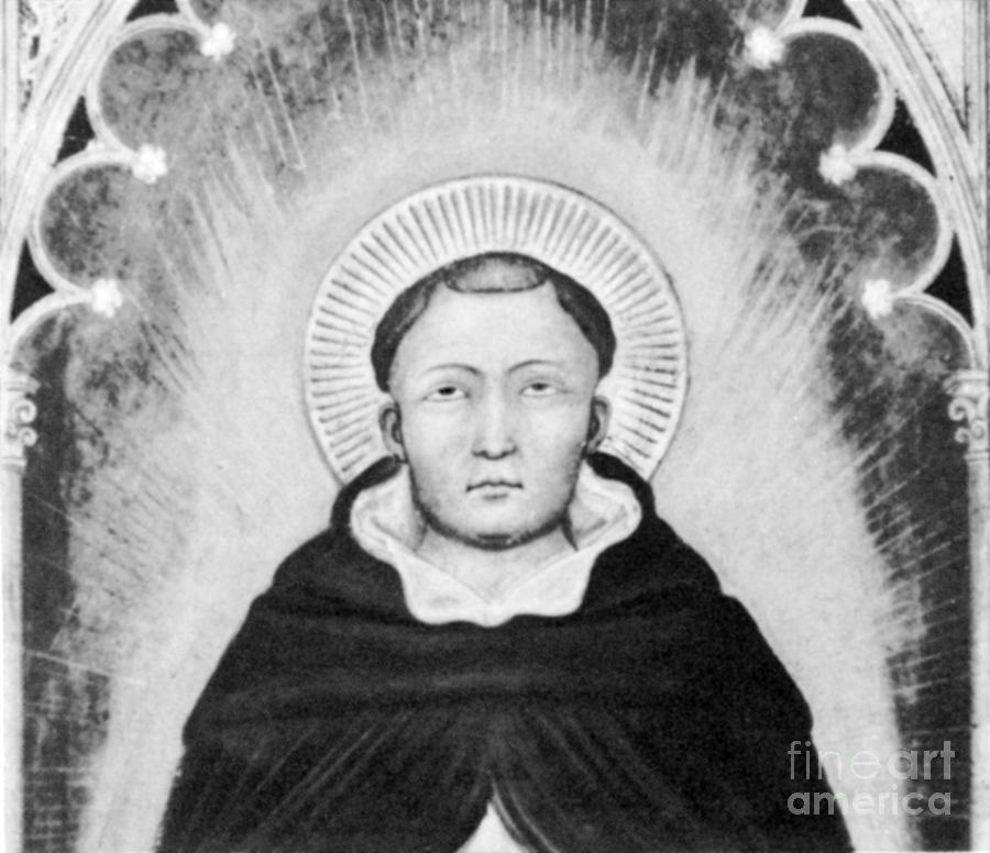 History Photograph - Thomas Aquinas, Italian Philosopher by Science Source