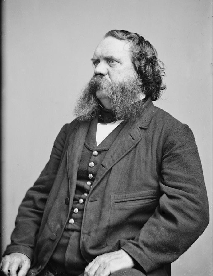 History Photograph - Thomas B. Thorp 1815-1878 American by Everett