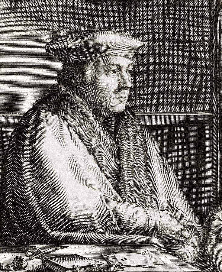 Thomas Photograph - Thomas Cromwell, English Statesman by Middle Temple Library