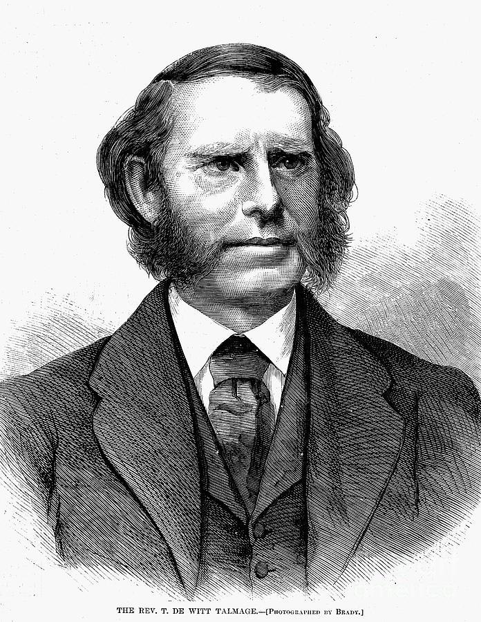 1872 Photograph - Thomas De Witt Talmadge by Granger