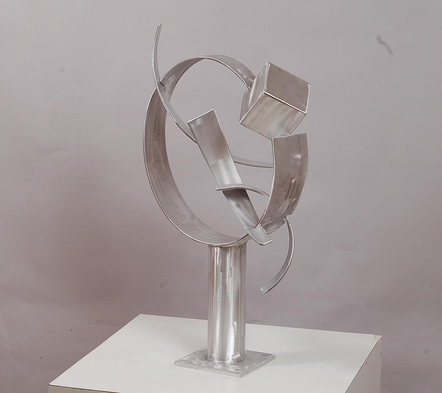 Welded Sculpture - Thought Of Escape by Mac Worthington
