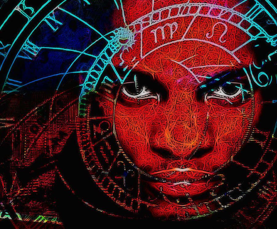 Astronomy Digital Art - Thoughts Of Astronomy by Devalyn Marshall