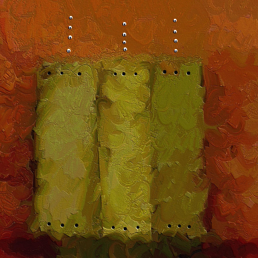 Abstract Painting Painting - Three by Ely Arsha