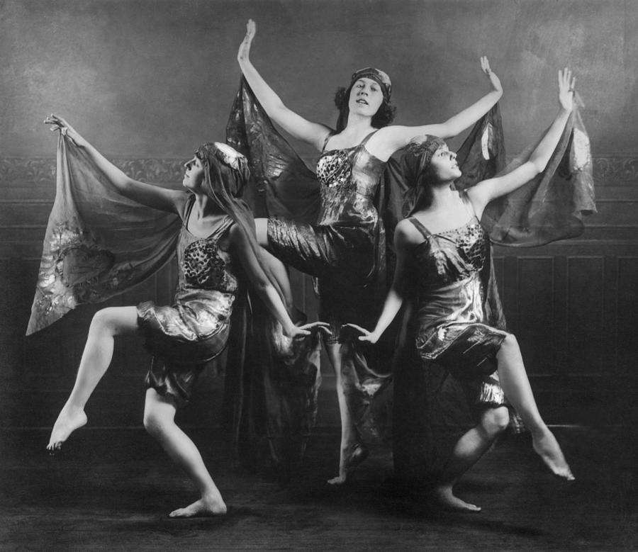 Adults Only Photograph - Three Graces by Archive Photos