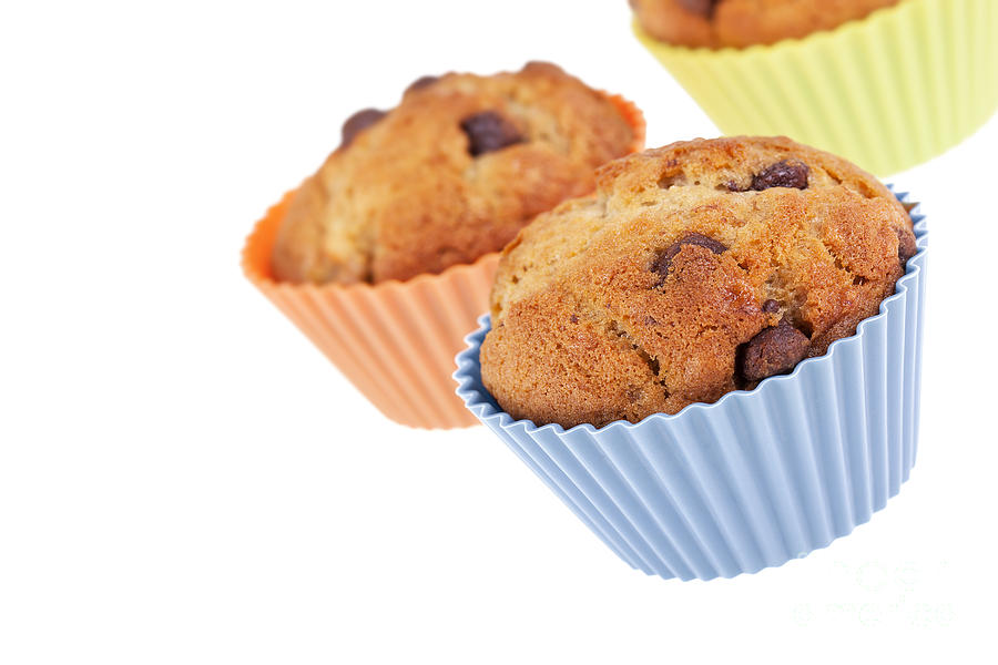 Background Photograph - Three Muffins by Jane Rix