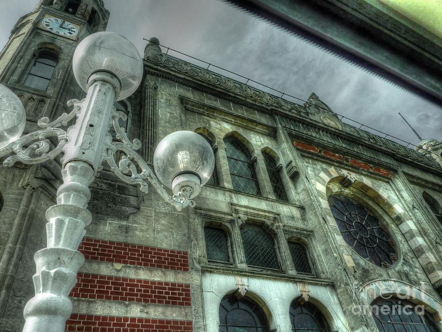 Clock Photograph - Three Oclock by Michael Garyet