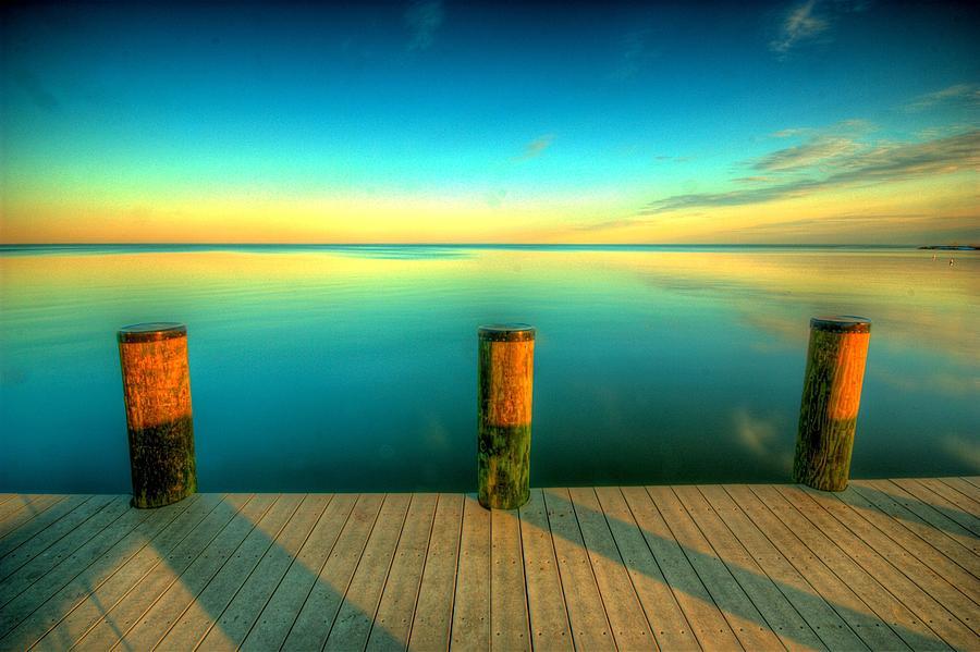 Horizontal Photograph - Three Pillars by Photograph by Arunsundar