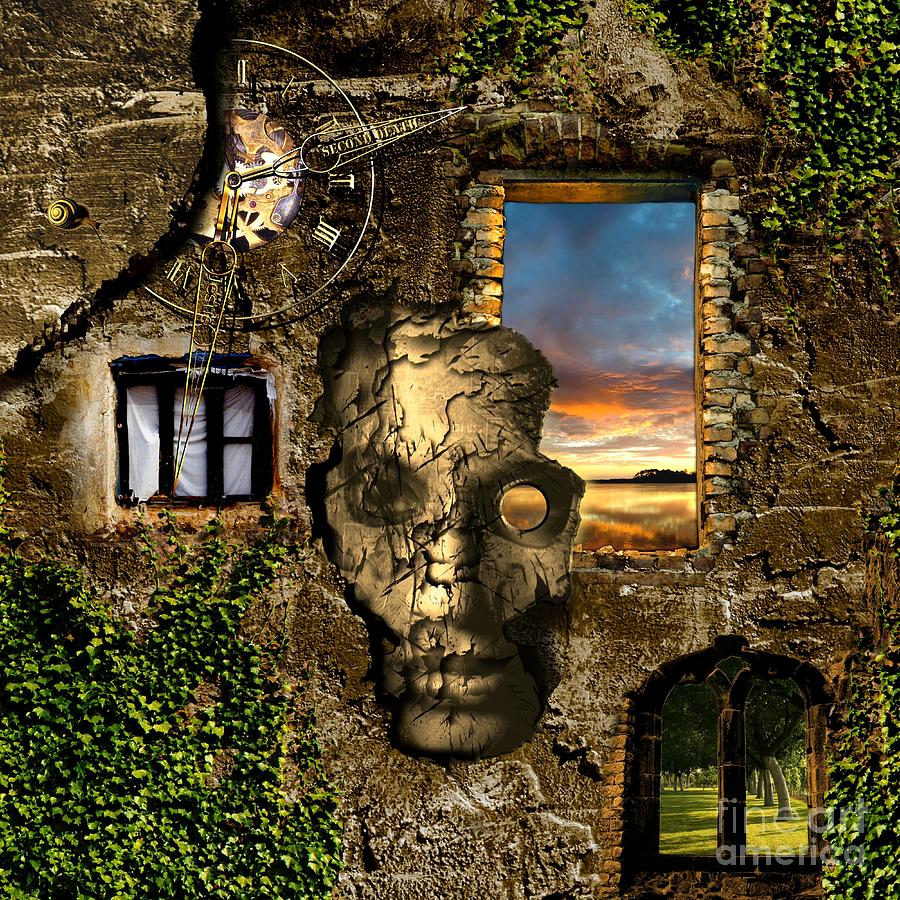 Window Digital Art - Three Windows One Lies by Franziskus Pfleghart