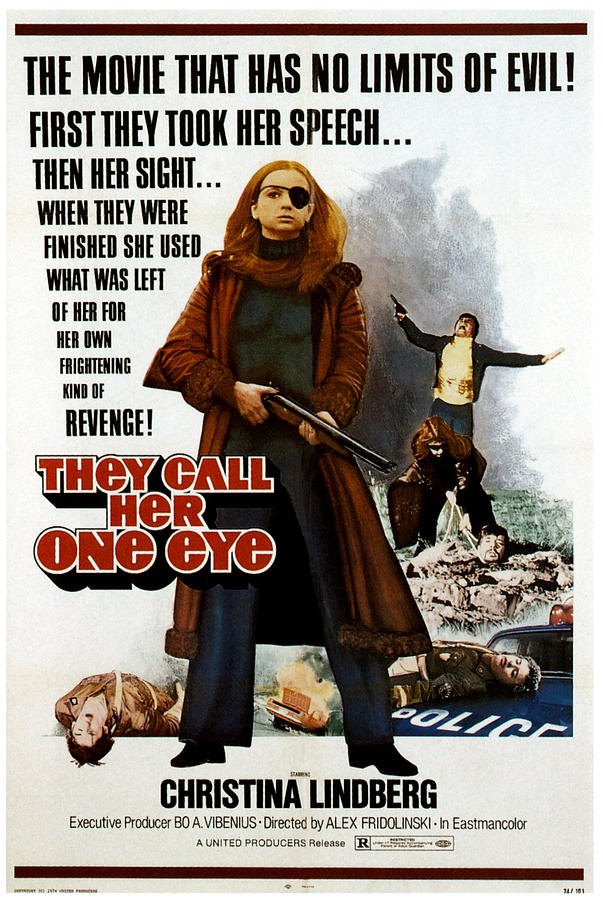 1970s Poster Art Photograph - Thriller A Cruel Picture, Aka They Call by Everett