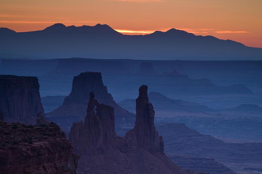 Mesa Arch Photograph - Through Mesa Arch by Andrew Soundarajan
