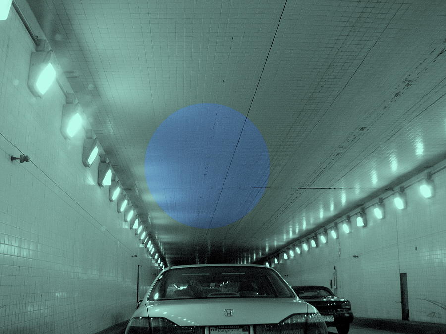 Tunnel Photograph - Through The Tunnel by Kathleen Grace